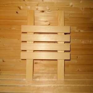 Sauna Rückenlehne helles Holz, 54,00