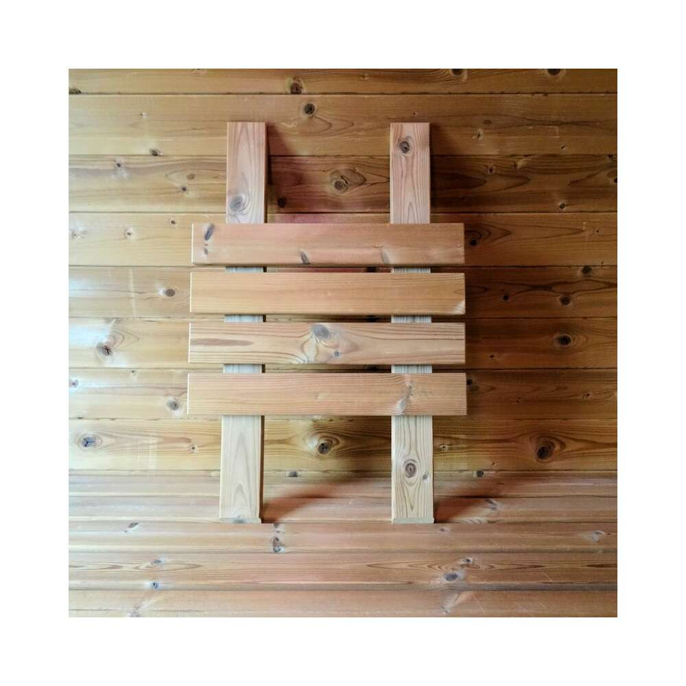 Sauna Rückenlehne Thermoholz, 39,00